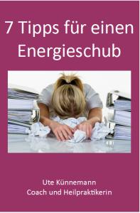 Buchcover 7 Tipps fuer einen Energieschub
